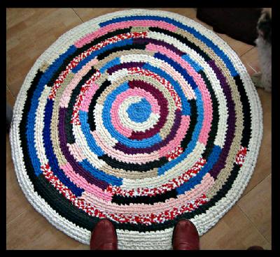 קורס סריגה שטיח מחוטי טריקו