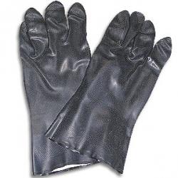 כפפות נאופרן שחורות
