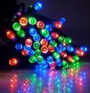 שרשרת סולארית 100 נורות LED