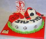 עוגת בר מצווה לאוהד הפועל תל אביב