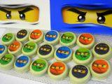 עוגיות נינג´גו - אוריאו מצופות הדפס