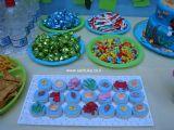 עוגיות אוריאו מצופות שוקולד ועיצובים של ים