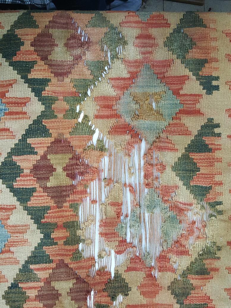 מהלך תיקון שטיח קילים תמונה 1