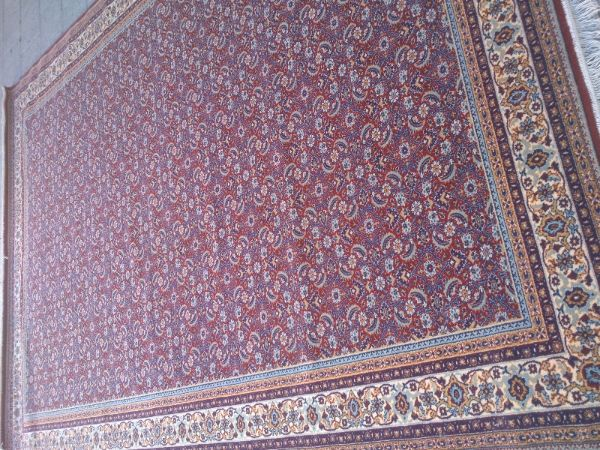 שטיח כרמל קינג דויד צמר משנות ה80 חדש לגמרי.