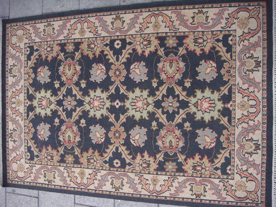 שטיח קילים סומק צמר עבודת יד הודי