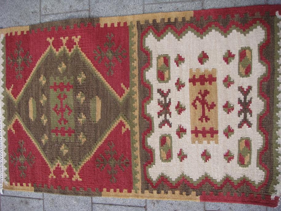 שטיח קילים עבודת יד מצמר דגם 6479