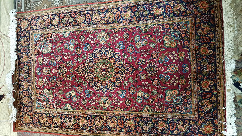 שטיח פרסי קשאן