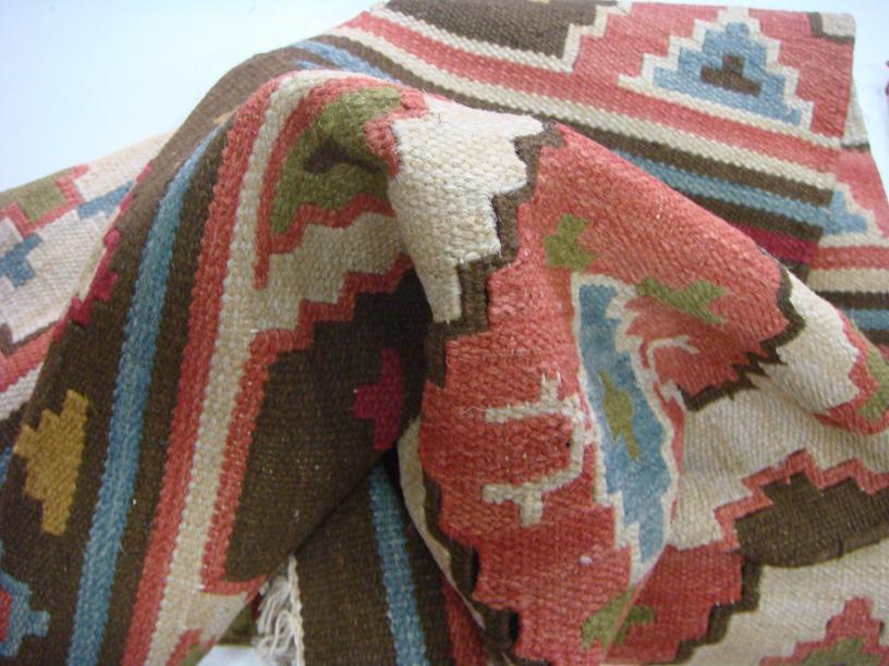 מרקם של שטיח קילים