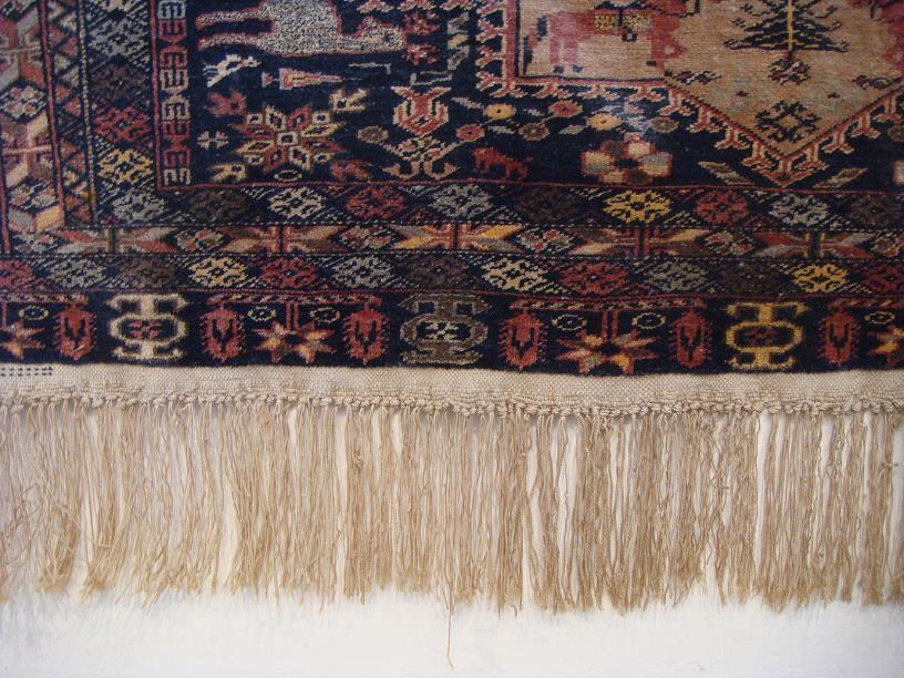 שטיח אפגני צמחי