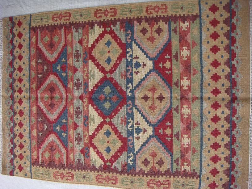 שטיח קילים ציבעוני