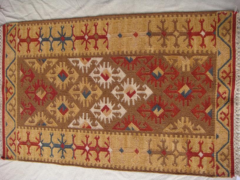 שטיח קילים צבעים חומים