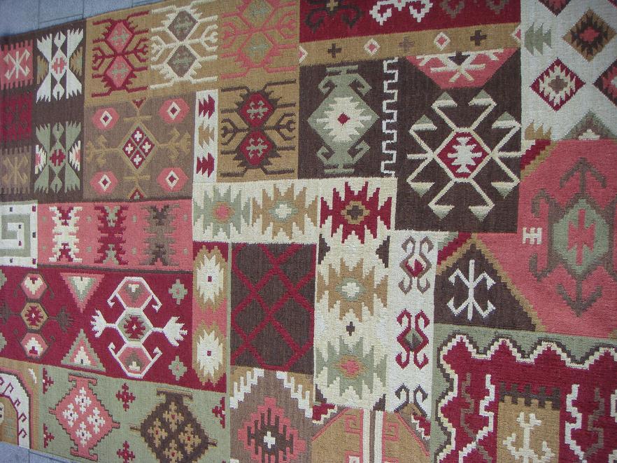 שטיח קילים טלאים