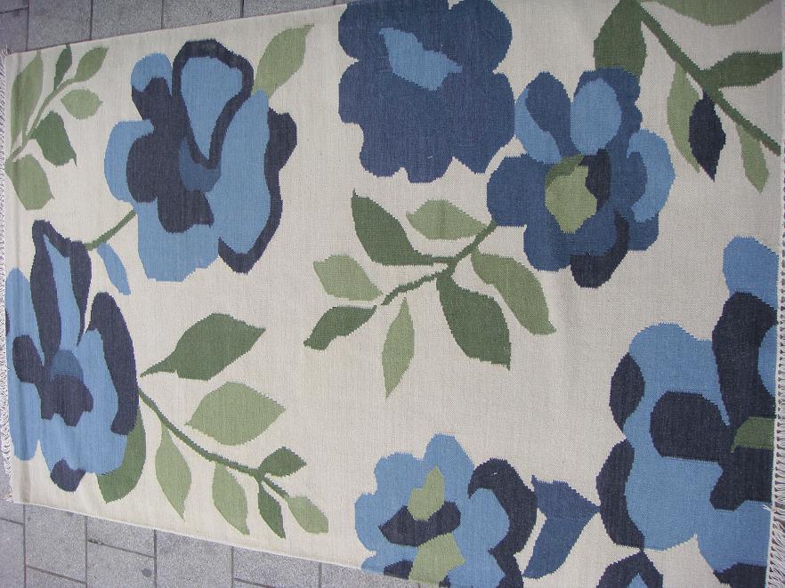 שטיח קילים פרחים
