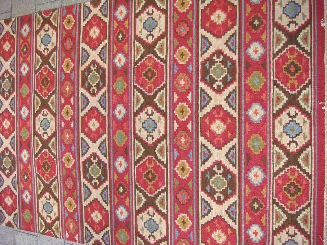 שטיח קילים מהמם עבודת יד צמר