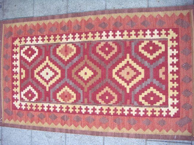 שטיח קילים קטן עבודת יד