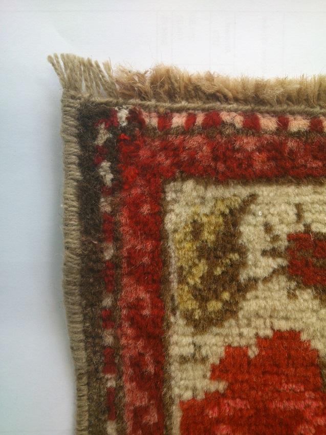 חיזוק ראש באוברלוק לשטיח