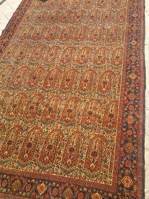שטיח פרסי סנה אמצע מאה 20