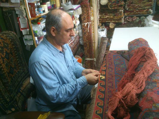 ארז כהן מתקן שטיח