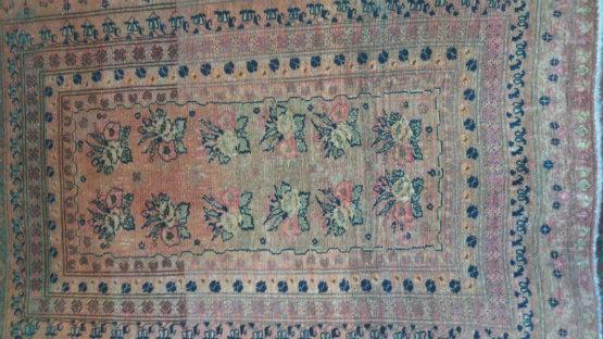 שטיח אפגני חצי עתיק מתוארך