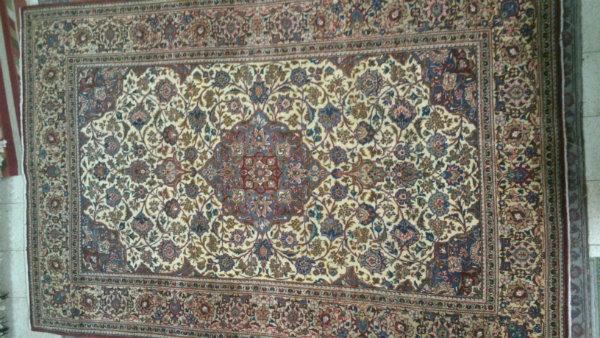 שטיח קשאן פרסי בן 50