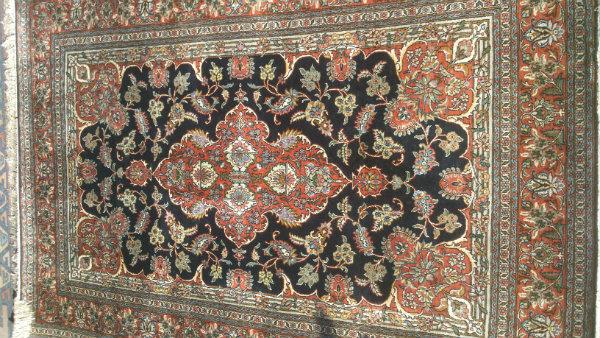 שטיח קשמיר משי