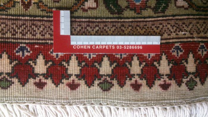 גב שטיח טבריז חדש