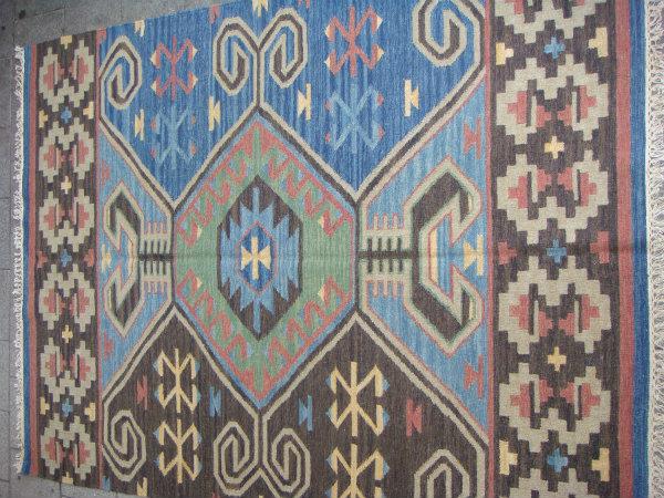 שטיח קילים כחול