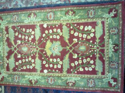 שטיח הודי עבודת יד