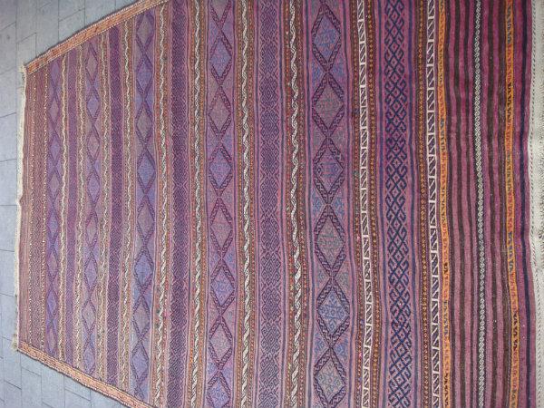 שטיח קילים אוזבקי עתיק עבודה דקה