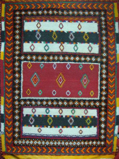 שטיח מרוקאי מעורב קילים