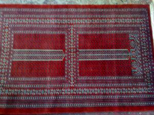 שטיח פקיסטני צפוף