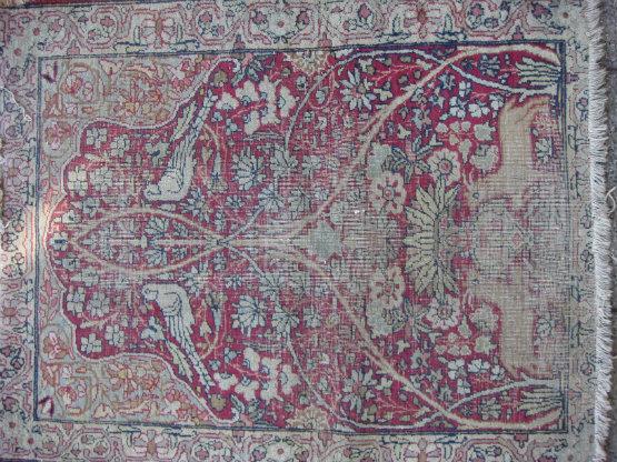 שטיח קרמן עתיק קטן תמונה