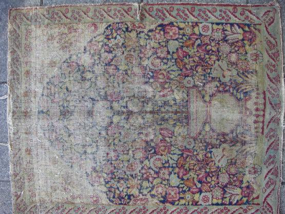 שטיח קרמן קטן עתיק