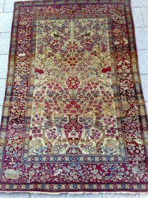 למעלה שטיחים עתיקים - שטיח עתיק - כהן שטיחים EZ-91