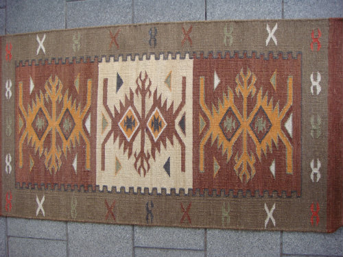 שטיח קילים צבע חום