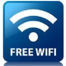 מה מקומה היחסי של ישראל ביחס לעולם בתחום היקף השימוש ב-WiFi ציבורי?
