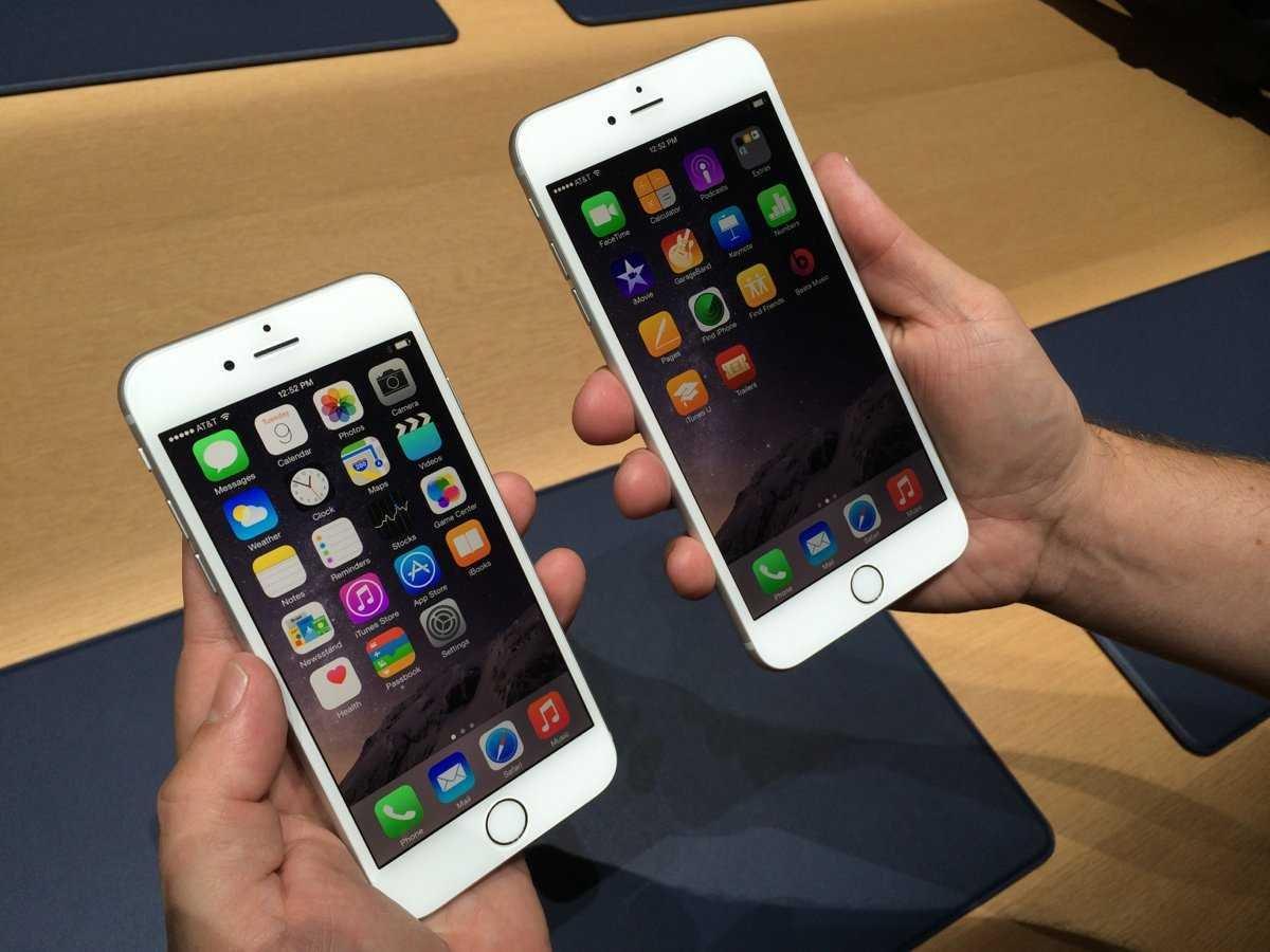 אייפון 6 ואייפון 6 פלוס