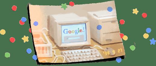 יום הולדת גוגל