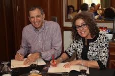 """פרופ' כרמי עם ריק קפלן מנכ""""ל IBM ישראל"""