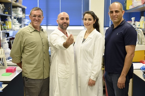 קבוצת נמחקר קרדיט יחצ דוברות הטכניון רמי שלוש
