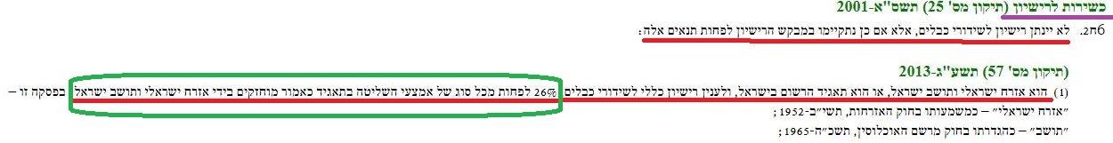 """חובת """"הישראליות"""" למשדרי טלוויזיה"""
