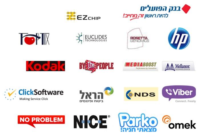 חברות ישראליות שקלטו בוגרים