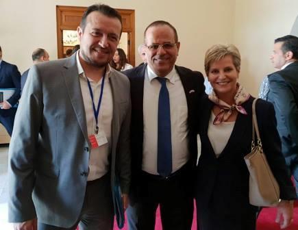 השר איוב קרא עם שרי התקשורת של יוון וקפריסין