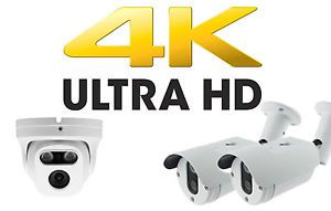 מצלמות אבטחה 4K