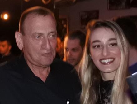 רון חולדאי עם ספיר שפיגל