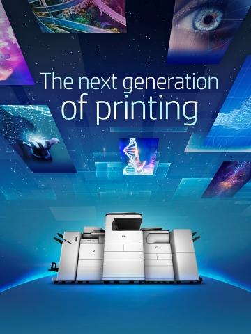 קו מדפסות חדש של HP