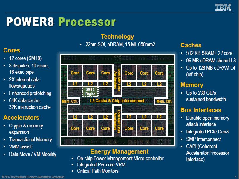 Power8 IBM