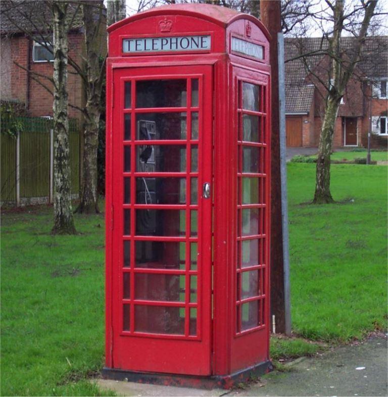 תא טלפון ציבורי בניו זילנד