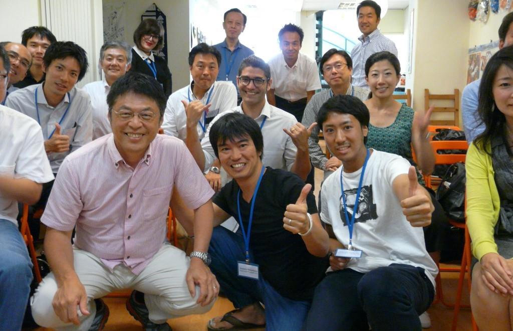 משלחת הבכירים מיפן