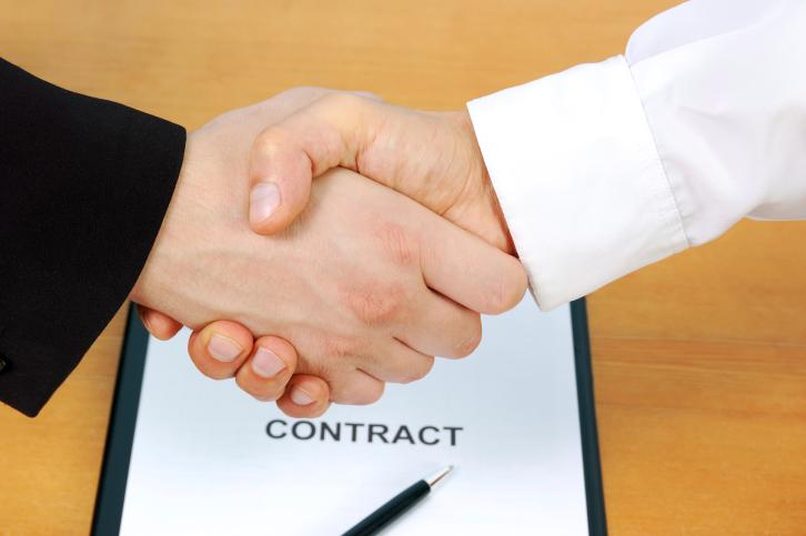 חתימת הסכם